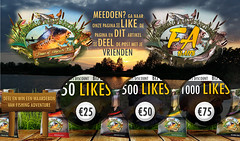 fishing adventure Like Share and win actie (fishingadventure_rbv) Tags: fishing visser carps win liquids vissen fishers flavors flavours popups dumbells baits carping karpers boilies karpervissen fishingadventure likeshare fabaits bigletpix carpcatches