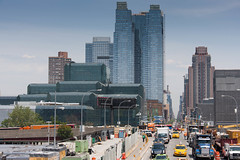 From the High Line (ghostwheel_in_shadow) Tags: park usa newyork skyline brooklyn america skyscraper us unitedstates manhattan highrise northamerica newyorkstate block towerblock highline parkland urbanphotography publicarchitecture hudsonyards architectureandstructures