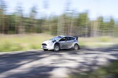 Neste Rally Finland 2015 Testing (neon-) Tags: test car racecar finland jump stage rally slide panning gravel drift testi ralli neste norf hassi ouninpohja