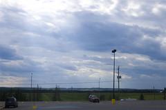 Temiskaming Shores (akosfeh) Tags: ontario canada nikon god cloudy fingers sunburst rays crepuscular northernontario newliskeard d40 dymond temiskamingshores