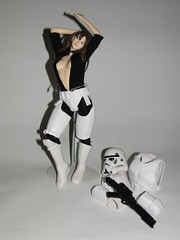 Stormtrooper Girl +18  ;) (3d_predator) Tags: sexy art girl star starwars republic helmet wars custom clone