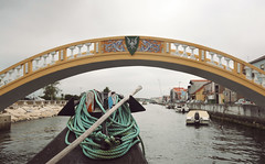 (felix.h) Tags: city bridge urban portugal canon river eos boat canal wideangle channel aveiro sigma1020mm sigma1020 400d canoneos400d digitalrebelxti eoskissdigitalx