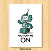 Love Machine (Anisha_Creations) Tags: robot cartoon cute love valentines geek technology tech character message text lovers sweet machine romantic wordplay puns funny adorable sciencefiction robotic heart power computer happy smile lovely energy scifi nerd science fiction future