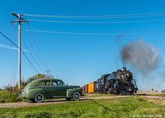 Prospect Road (kdmadore) Tags: steamlocomotive steam soo1003 soo train railroad wisconsinsouthern wsor mikado sooline steamengine