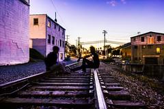 Conversations With God (feelinviewtiful) Tags: 828 sylva nc mountains railroad silhouette hypebeast self portrait byron tenesaca light