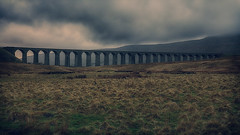 The Cassandra Crossing (Andrew G Robertson) Tags: ribblehead viaduct yorkshire dales ingleton gloom canon 5d mkiv mk4 national park