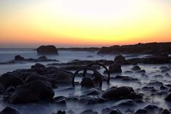 Chemical Beach Sunrise (1) (craigdwilkinson) Tags: dawdoncolliery nosespoint seaham wheels wagonwheels chemicalbeach sunrise infinitexposure greatphotographers