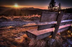 Sonnenuntergang am Feldberg 3