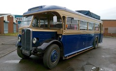 'New' arrival at RBW. (Renown) Tags: bus coach aec regal leyland fv4548 rbw reliancebusworks