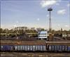 Wojkowice, Poland. (wojszyca) Tags: mamiya rz67 6x7 120 mediumformat 75mm shift gossen lunaprosbc epson v800 kodak ektachrome e100g train railroad cargo terminal industrial tower