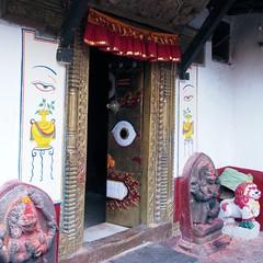 Enter if you Dare (Gypsy Cowboy) Tags: nepal kathmandu