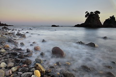 Rocks And Water Ⅲ (memories of time) Tags: japan shizuoka izu minamiizu sea rock ose 伊豆 南伊豆 大瀬