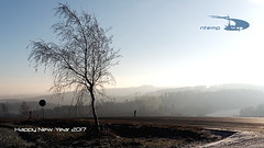 Happy New Year 2017 (ntemptm) Tags: happy new year happynewyear czech nopeople sun fog sunny foggy road tree silhouete naturelovers trees sky