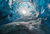 Ice Chimney (ullibee) Tags: vatnajökull iceland ice blue chimney stack funnel smoke pipe glacier snow winter cave absolutelystunningscapes