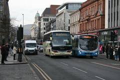 151-KE-3663 & 558 Donegall Square North. (Ballyhenry) Tags: bartons man scania