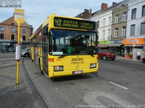 L42 - Andenne, place des Tilleuls
