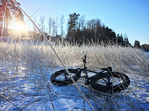 Fatbiking on ice 1