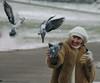 Natalya Hrebionka (Natali Antonovich) Tags: winter christmasholidays christmas tradition belgium belgie belgique natalyahrebionka portrait motherlandbelarus belarus birds mood smile minsk lifestyle snow frost pigeons