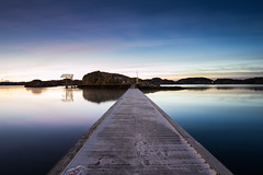 Same place, different day. (Per-Karlsson) Tags: explore pontoon water waterscape sea seascape tranquility stillness cold skärhamn outdoor reflection snow sweden scandinavia