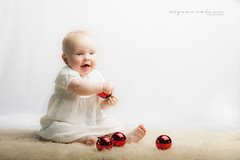 First Christmas (dammyc7) Tags: 2016 christmas noah noahedwardkelley newborn baby babyshoot boy baubles nightdress hensel softbox nikon nikond700 blueeyes grandson love 70200mm 28