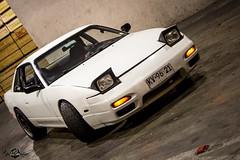 Nissan Onevia (S13) (Abel Dorador) Tags: nissan silvia s13 legends japan japones jdm old school 90´s turbo blow off hks enkei white canon t3i 1750 28 benro tripod antofagasta chile estadio calvo y bascuñan