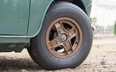 Front Wheel (Classic Mini's Japan) Tags: classic mini rover austin morris alloywheels