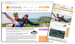 Earl Mountbatten Hospice's Walk the Wight (s0ulsurfing) Tags: s0ulsurfing 2017 january news wwwjasonswaincouk image photography isleofwight isle wight island design blatantselfpromotion vectis westwight walkthewight walk walking walkers earlmountbattenhospice hospice charity fundraising people humans hill hills downs coastalpath hiking hikers