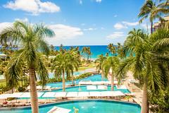 Somewhere in April Time (Thomas Hawk) Tags: andaz andazmauiatwailea hawaii maui wailea beach palmtree pool swimmingpool tree fav10 fav25 fav50