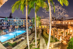 The Pool at the Langham (Samantha Decker) Tags: ca california canoneos6d langhamhuntington pasadena samanthadecker socal zenitarmc16mmf28fisheye fisheye hotel