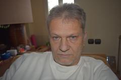 Soldier Of Fortune (Kotsikonas Elias) Tags: people man self portrait nikon d3300 blue eyes indoor