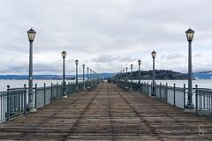 Harbor Pier    San Francisco (Caroline Groneberg) Tags: sanfrancisco usa kalifornien westcoast steg pier fluchtpunkt