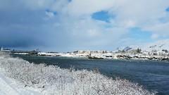 Vetur við Ölfusá (skolavellir12) Tags: selfoss iceland snow glacial river canon rebel water winter