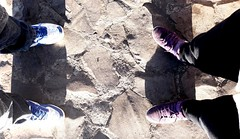 We're standing by. #stand #standing #standingby #people #sidebyside #two #shoes #shadows #rocks #malang #mount #bright #sunny #light #indonesia #java #photography (veneishiag@rocketmail.com) Tags: stand malang standing shoes photography standingby indonesia bright java mount rocks light sunny shadows two sidebyside people