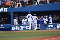 DSC_0853 (Yu_take) Tags: 横浜denaベイスターズ 三嶋一輝 倉本寿彦