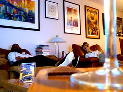 days of wine and jambalaya (citizensunshine) Tags: pictures ny newyork art glass lamp li stem artwork nap wine sleep picture longisland sleepy tired jericho wineglass recliner jambalaya