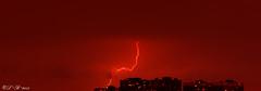 Severe Thunderstorm Watch 👓 (PerfumeG2011 (on and off )) Tags: longexposure sky canada storm nature weather clouds nikon nightshot montréal strike nightshots lightning montréalquébec distantshot d7000 nikond7000 lightroom5