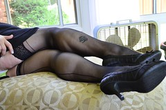 _DSC0041jj (ARDENT PHOTOGRAPHER) Tags: woman female highheels muscular veins calves flexing veiny muscularwoman
