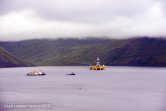 Polar Poineer Staged for Arctic Drilling (Greenpeace USA 2016) Tags: usa alaska protest shell gas arctic rig oil climatechange climate activist drilling unalaska dutchharbor fossilfuel