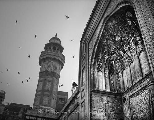 Masjid Wazir Khan and Extravagant Minarets