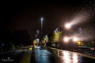 Pouring Rain at La Fox