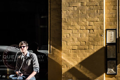 Brewery Kitchen 2 (Vincent Albanese) Tags: road street winter people woman plants sun man colour tree eye window glass bike fuji shadows emotion humanity sydney hipster inspired streetphotography australia explore fujifilm colourful moment discover decisive atelier xt1 xf35mm