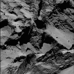 Active regions in Seth (europeanspaceagency) Tags: seth comet sinkholes osiris rosetta 67p activepits