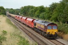 66169 Spooner Row 06/07/15 (rhayward92) Tags: shed row 66 class spooner ews 66169 dbschenker 6m43