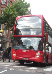 Metrobus 434 on route 119  Croydon high street 01/08/15. (Ledlon89) Tags: bus london transport croydon londonbus tfl bsues croydonbuses