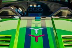 Lamborghini Gallardo Superleggera (Joshua Chmil) Tags: green car topdown vehicle lamborghini carbonfiber vents gallardo superleggera lamborghinigallardosuperleggera