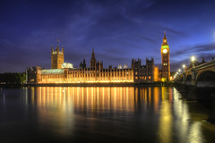 Big Ben Long night exposure (FitzinCC) Tags: londonhdr