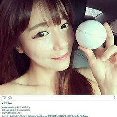 Wowwww!!! มาช่วยกันคอนเฟิร์มอีกเสียง 👍👍👍👍👍👍👍 สำหรับคุณ อัน มินยอง @amyeong สาวสวยดีกรี Koreamodel ก็ยังเทใจให้ VILIV MIRACLE WHITENING CREAM SPF20 PA++ ของเราเลยค่าาาาา ... สาวๆ คนไหนอยากสวยใส
