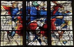 Senlis (Oise) - Cathdrale Notre-Dame - Vitrail (cration de Claude Courageux) (dtail) (Morio60) Tags: notredame cathdrale vitrail 60 picardie vitraux senlis oise