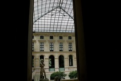 (ryancook) Tags: travel girls light paris france outside europe louvre backpacking versailles passport museums