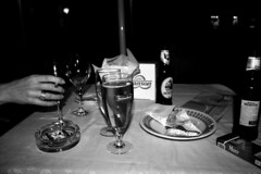 More from the archives #2 (SofiDofi) Tags: trip travel november venice blackandwhite italy friend europa europe italia nightout beers latenight drinks traveling venezia janne veneto winter2010
